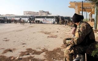 استئناف تهجير 4 مناطق سورية محاصرة