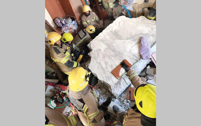 وفاة عاملة وإصابة 3 خادمات بانفجار أسطوانة غاز - الإمارات اليوم