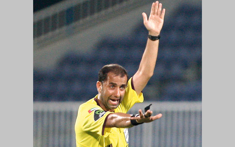 محمد عبدالكريم: التمركز الجيد لحكم المباراة ساعده على اتخاذ القرار الخاص باحتساب ركلة جزاء للوحدة.