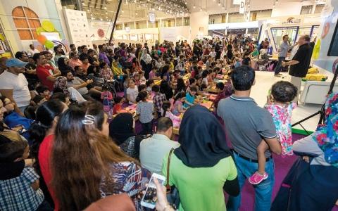 110 آلاف زائر لـ «القرائي للطفل» في 4 أيام
