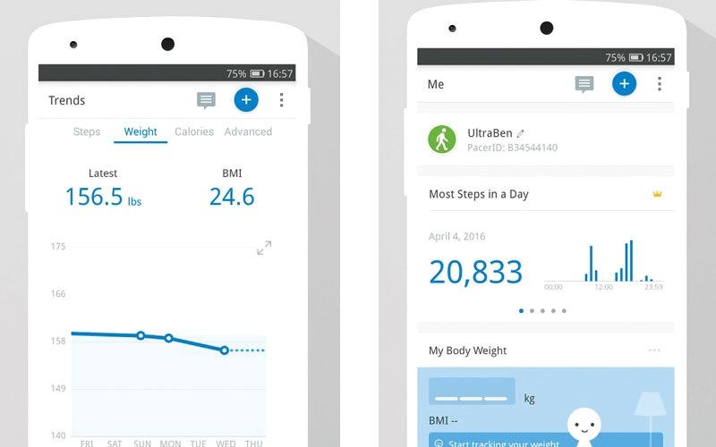 Pedometer and Weight Loss Coach.. لمتابعة الأنشطة الحركية