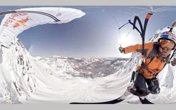 كاميرا 360 درجة لتسجيل أفلام الواقع الافتراضي