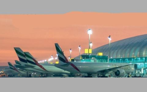 22.4 مليون مسافر عبر مطار دبي في الربع الأول