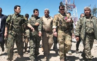 غارات تركية على مواقع للأكراد في سورية والعراق