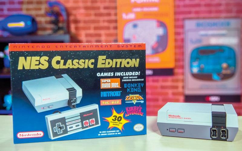 «نينتندو» توقف إنتاج مجموعة الألعاب Mini NES