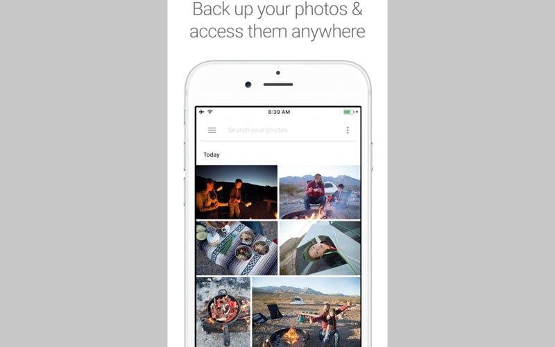 تطبيق «غوغل» الجديد للصور يدعم AirPlay