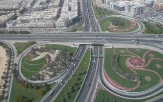 """""""طرق دبي"""" تنفذ تحويلات مرورية لإستكمال أعمال مشروع مسار 2020"""