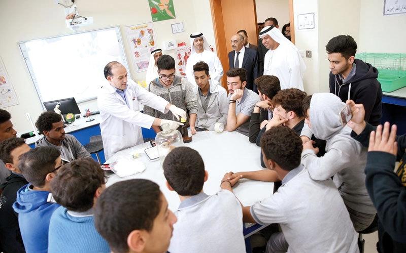 «أبوظبي للتعليم» يستقطب 20 مواطناً   لتقييم المدارس
