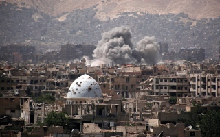 اشتباكات بين فصائل معارضة في غوطة دمشق
