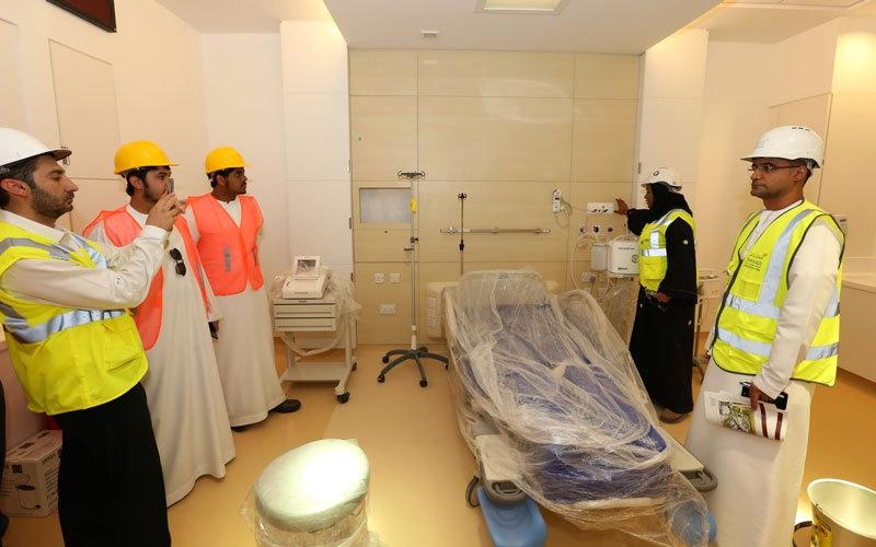 مليونا ساعة عمل في «الحي الإماراتي» من دون إصابات بشرية