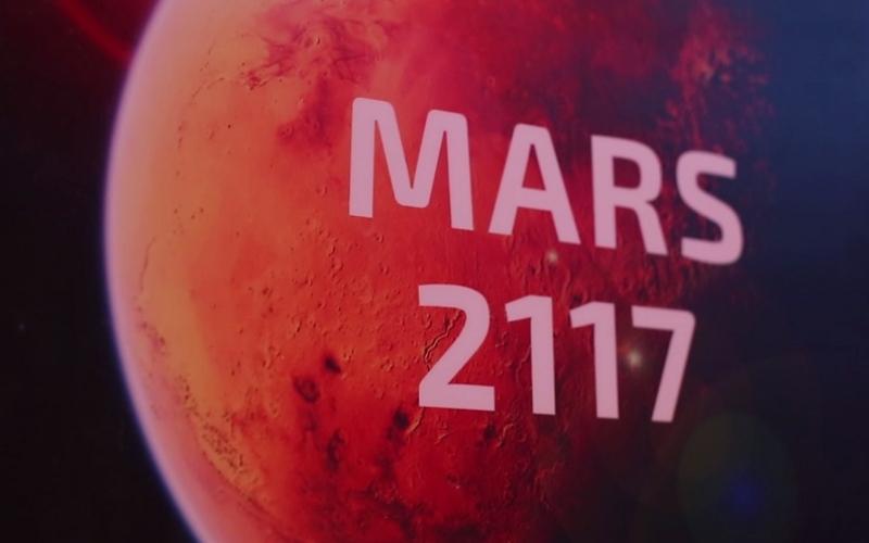 """بالفيديو.. تعرف إلى """"المريخ  2117"""""""