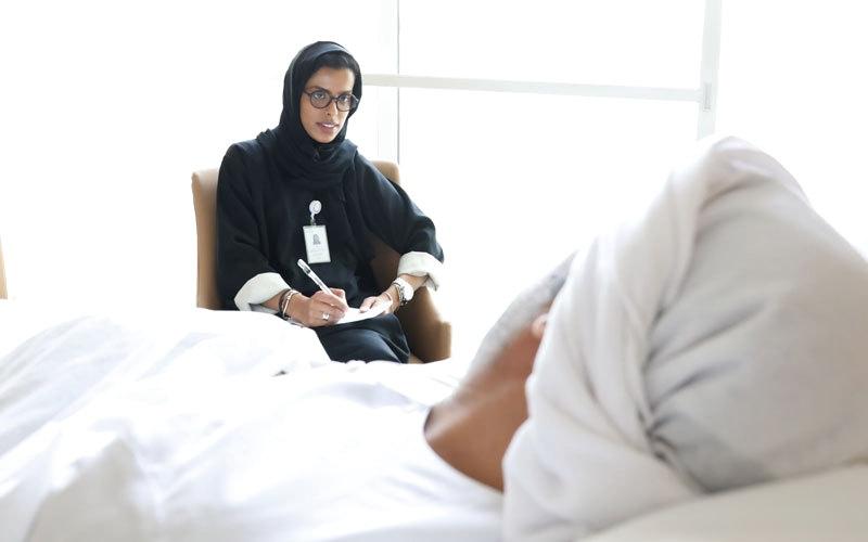 مستشفى المفرق يدعم المرضى نفسياً