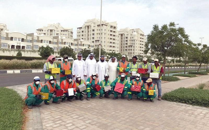 تكريم 40 عاملاً في أبوظبي ومدينة خليفة