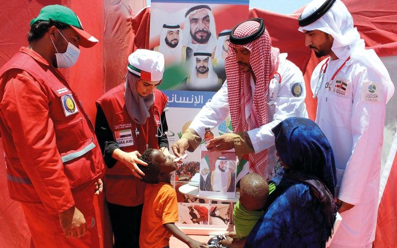 «الإمارات للدواء» يوفر علاجاً مجانياً لـ 5000 صومالي