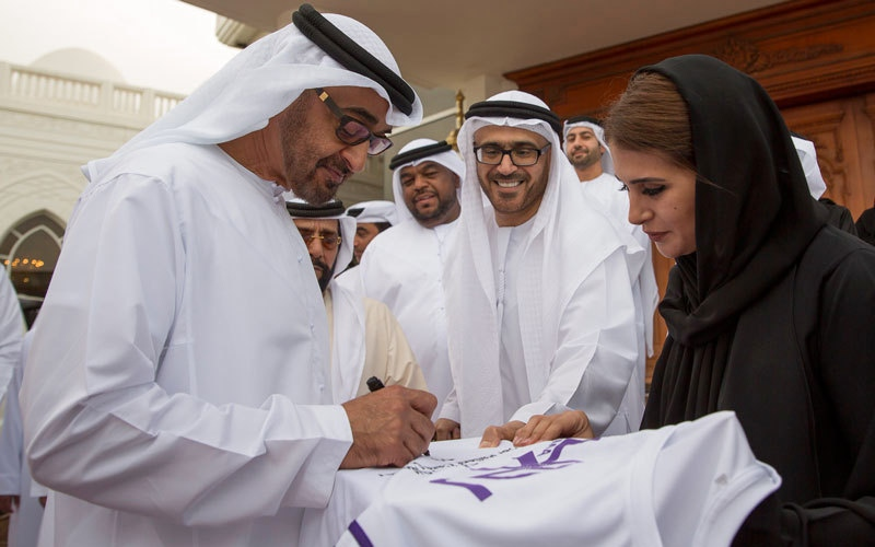 محمد بن زايد: الإمارات تحرص على توفير أفضـــل أوجه الرعاية الصحية للمواطنين