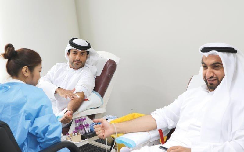 حملة «دبي للسيليكون» للتبرع بالدم تجمع 131 وحدة