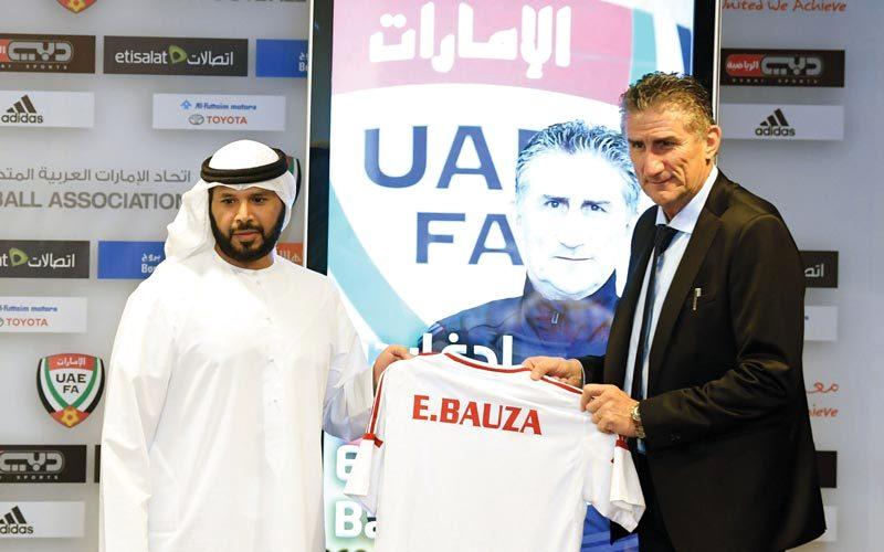 باوزا: سألعب مع منتخب الإمارات بطريقة التانغو - الإمارات اليوم