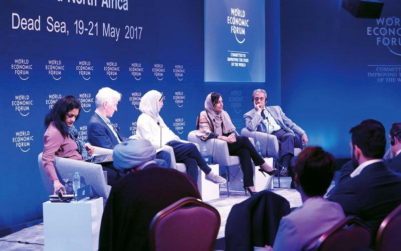 بدور القاسمي رئيساً  لـ «مجلس الأعمال الإقليمي  للشرق الأوسط وشمال إفريقيا»