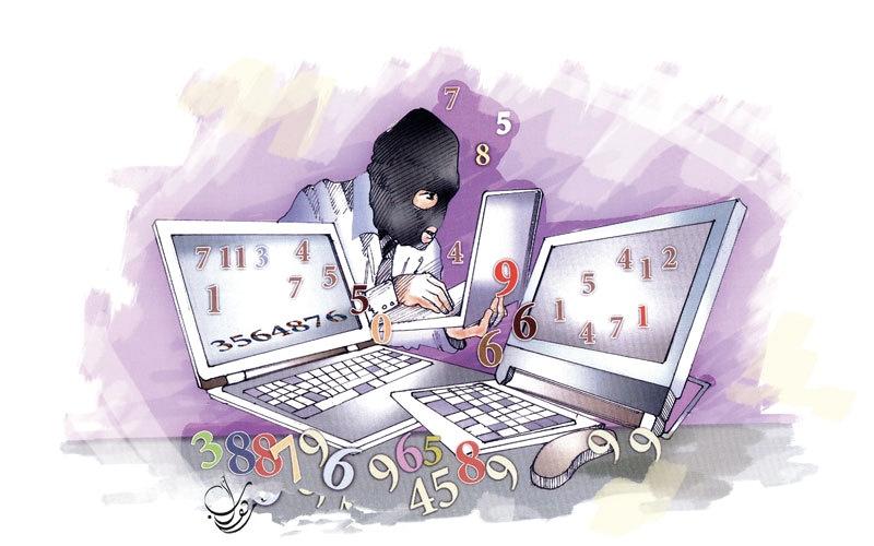 موظفان حكوميان يبيعان حسابات إلكترونية بأسماء شركات وهمية