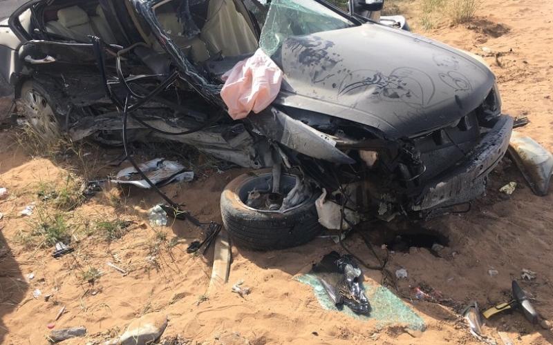 وفاة طفلة مواطنة وإصابة شقيقتها في حادث برأس الخيمة