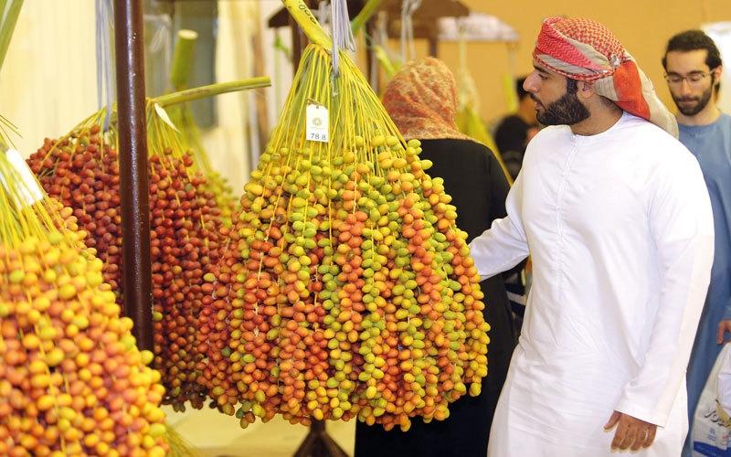 أسواق ...28 علامة تجارية لمنتجات التمور في أسواق دبي
