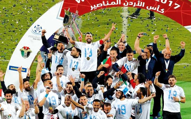 الفيصلي يتـــــوّج باللقب الـ 19 في كأس الأردن