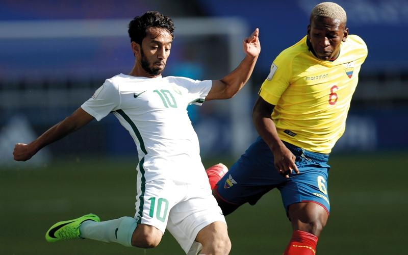 السعودية تحيي آمال التأهل في مونديال الشباب