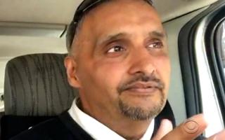 الصورة: سائق تاكسي مسلم يساعد الناجين من تفجير مانشيستر