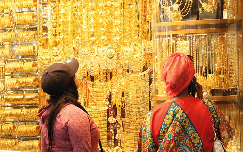 التحوط من ارتفاع الذهب يدعم مبيعات المشغولات