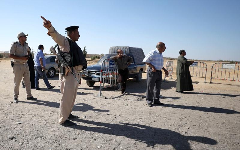 """الصورة: """"الداخلية المصرية"""": مقتل 9  إرهابيين وتوقيف 9 آخرين في """"الشرقية"""""""
