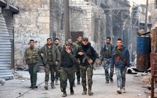 الصورة: قوات النظام السوري تقترب   من آخر معاقل «داعش» في حلب