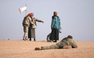 الصورة: النظام يسيطر على شرق دمشق باستثناء جوبر