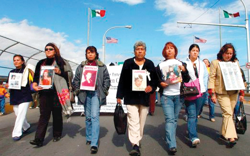 ولاية مكسيكو سيتي موبوءة بقتل النساء